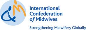 Logotipo Confederación Internacional de Matronas