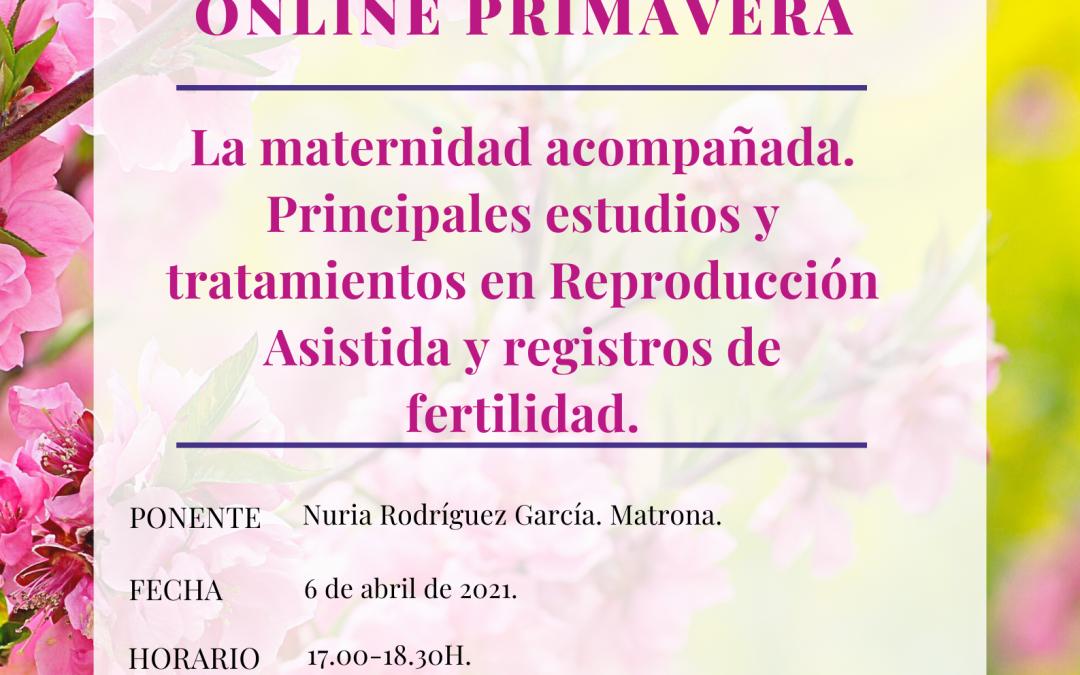 Sesión Formativa de Primavera Online